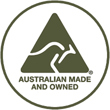 Australian Made & Owned Icon