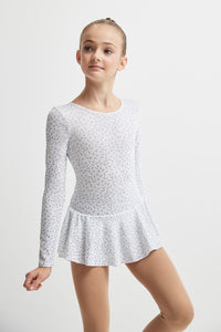 Mondor Born to Skate Glitter Dress - White
