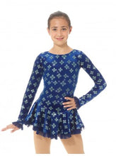 Load image into Gallery viewer, MD2739/18 Blue Snowflakes Dress