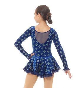 MD2739/18 Blue Snowflakes Dress