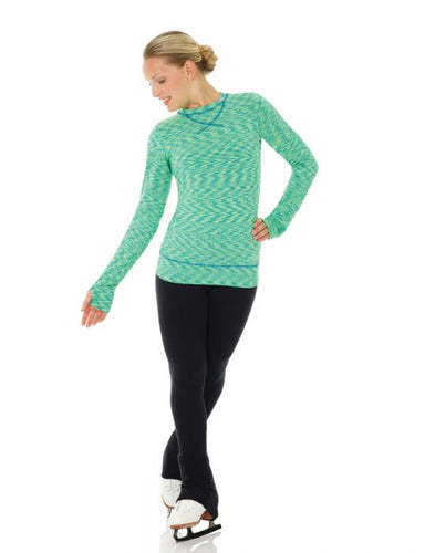 MD4501 Mondor Long Sleeve Lime Shirt