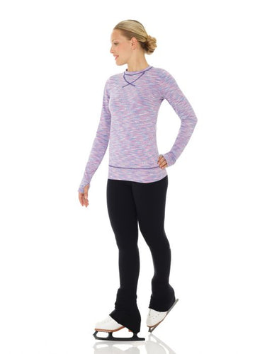 MD4501 Mondor Long Sleeve Blue Lilac Shirt