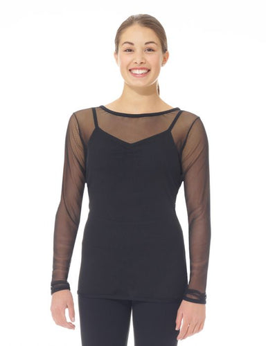 MD6822 Mondor Supple Mesh Top