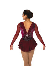 Load image into Gallery viewer, J100/19 Bordeaux Ballet Dress