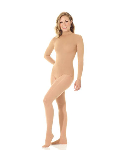 Mondor Long Sleeve Body Liner with Mock Neck - Caramel