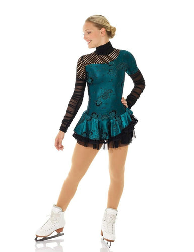 MD12925/17 Turquoise Steam Punk Dress
