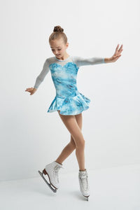Mondor Glitter Dress - Aquamarine