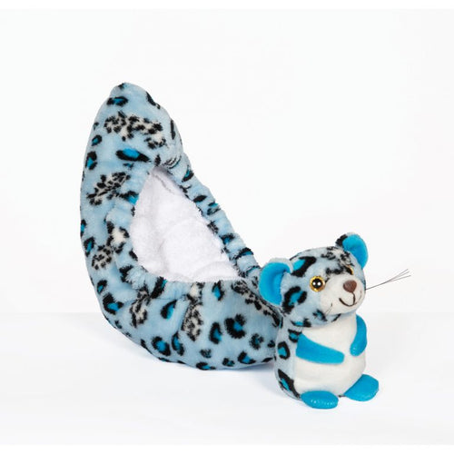 Jerry's Blue Leopard Soakers
