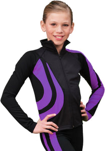 J26 ChloeNoel Swirl Jacket Purple