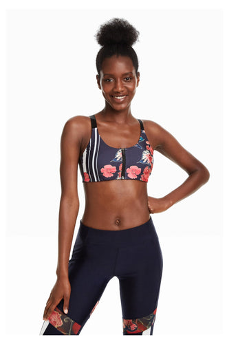 Desigual - Scarlet Bloom Running Bra