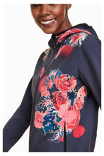 Load image into Gallery viewer, Desigual  - Soft Shell Scarlet Bloom Jacket
