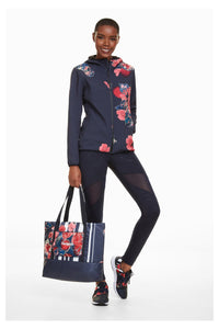 Desigual  - Soft Shell Scarlet Bloom Jacket
