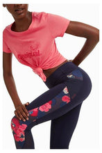 Load image into Gallery viewer, Desigual - Scarlet Bloom Capri Leggings