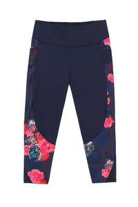 Desigual - Scarlet Bloom Capri Leggings