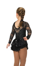 Load image into Gallery viewer, J193/18 Black Love & Lace Dress