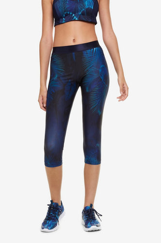 Desigual Bio Patching Capri Leggings