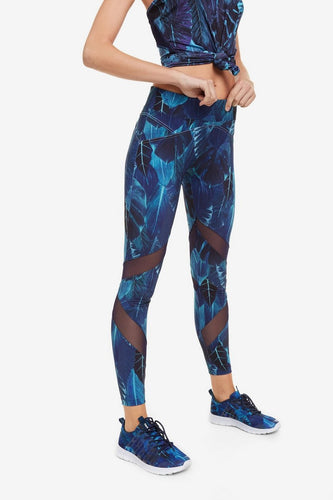 Desigual Bio Patching Back Zip Leggings