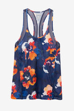 Load image into Gallery viewer, Desigual Camo Flower Tank Top