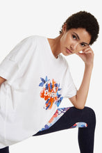 Load image into Gallery viewer, Desigual Camo Flower T-shirt