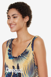 Desigual Bio Patching Tank Top
