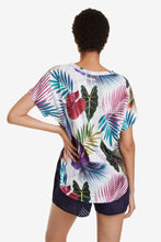 Load image into Gallery viewer, Desigual Oversize Biopatching T-shirt