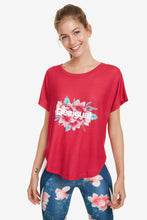 Load image into Gallery viewer, Desigual Oversize Hindi Dancer T-Shirt