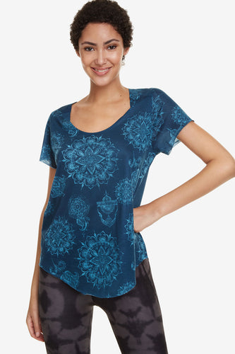 Desigual Perforated Hindi Dancer T-shirt