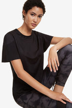 Load image into Gallery viewer, Desigual Volantes Black T-Shirt
