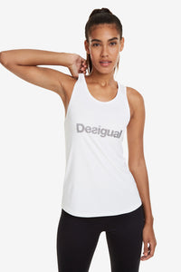 Desigual Floaty White Top