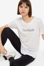 Load image into Gallery viewer, Desigual Essentials White Sport T-Shirt