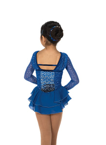 J22/17 Sapphires on Ice Dress