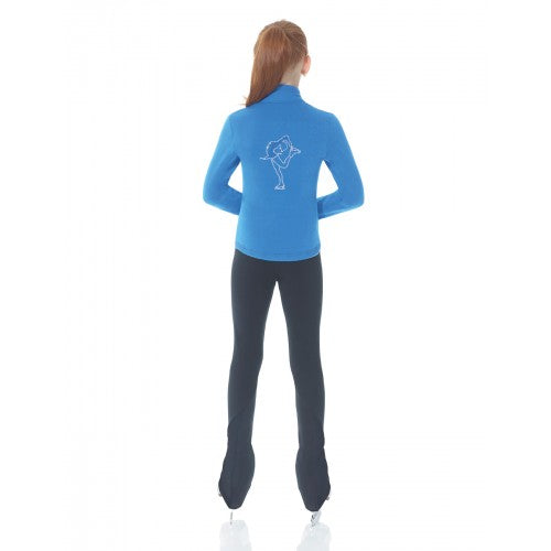 MD24482 Mondor Rhinestone Polartec Jacket Blue