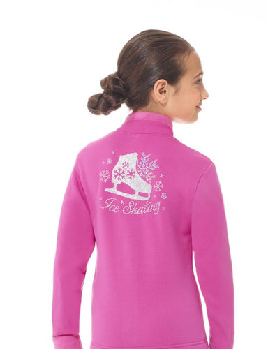 MD24485 Mondor Super Pink Polartec Rhinestones Jacket - Adult