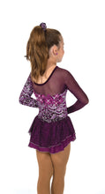 Load image into Gallery viewer, J040/19 Aubergine Elegance Dress