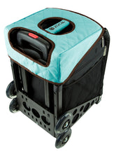 Load image into Gallery viewer, Zuca Turquoise/Brown Seat Cover