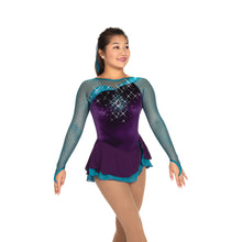 Load image into Gallery viewer, J526/20 Ocean Amethyst Dress