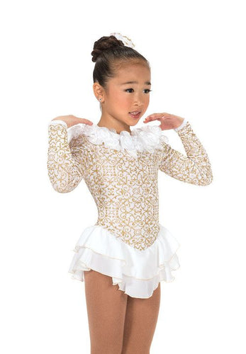 J191/16 Snow Petal Dress - Child 10-12