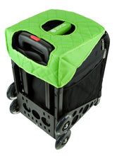 Load image into Gallery viewer, Zuca Green/Black Seat Cover