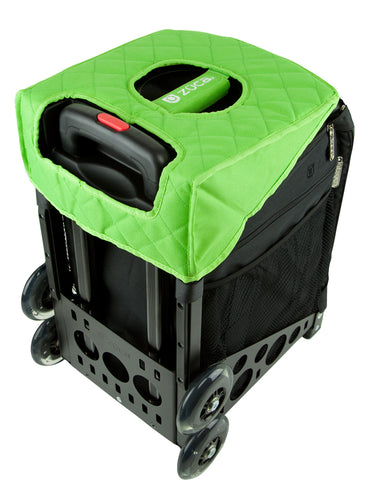 Zuca Green/Black Seat Cover