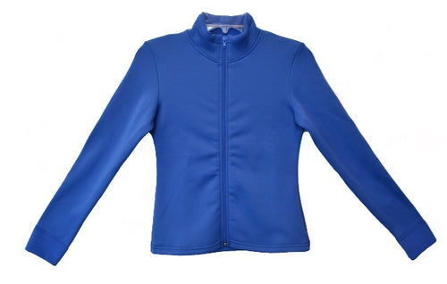 J11 ChloeNoel Fitted Polar Fleece Jacket - Blue