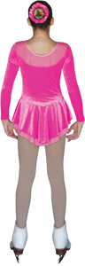 ChloeNoel DLV688 Pink Dress - Child Large
