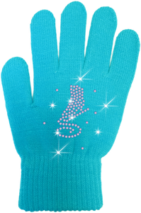 ChloeNoel Crystal Skate Gloves