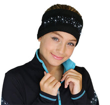 Load image into Gallery viewer, ChloeNoel Crystal Headband Turquoise