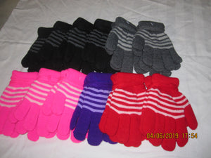 Toddler Stripe Gloves