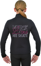 Load image into Gallery viewer, J11X ChloeNoel Crystal Live Love Skating Jacket