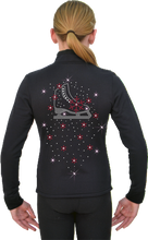 Load image into Gallery viewer, J11X ChloeNoel Crystal Snow Flakes Jacket