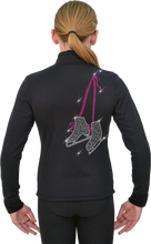Load image into Gallery viewer, J11X ChloeNoel Crystal Skate Lace Fuchsia  Jacket