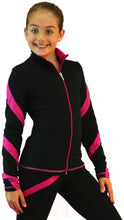 Load image into Gallery viewer, J36 ChloeNoel Spiral Jacket Fuchsia