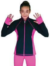 Load image into Gallery viewer, JS792 ChloeNoel Elite Colour Contrast Jacket Candy Pink