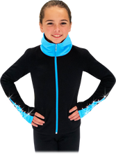 Load image into Gallery viewer, JS883P ChloeNoel Polartec Elite Jacket Turquoise